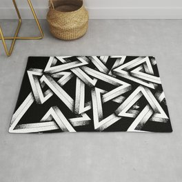 Impossible Penrose Triangles Rug