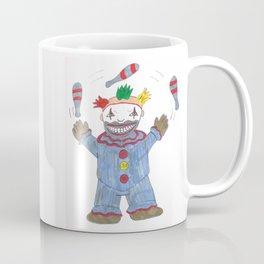 Creepy Twisty Clown Coffee Mug