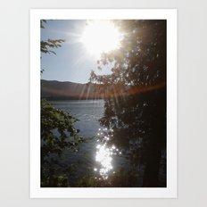 On An Island In The Sun Art Print