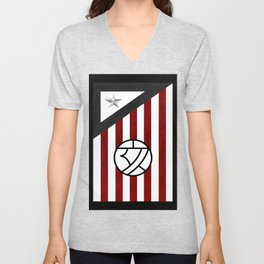 time football Unisex V-Neck