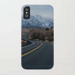 Blue Mountain Road iPhone Case