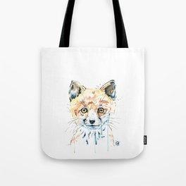 Peekaboo Fox Tote Bag
