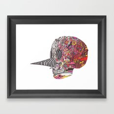 Skull 112415 Framed Art Print