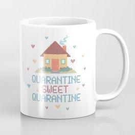 Quarantine Sweet Quarantine - Social Distancing  Coffee Mug