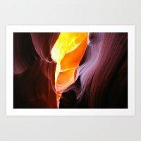 The Unseen Light Art Print