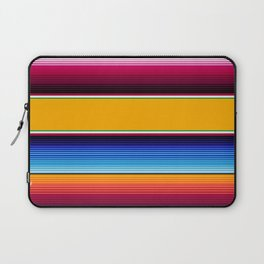 Traditional Mexican Serape in Yellow Multi Laptop Sleeve