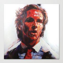 Patrick Bateman - American Psycho (2000) Canvas Print
