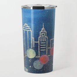 Boston skyline, 2 of 2 Travel Mug
