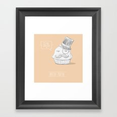 british muffin Framed Art Print