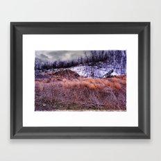 Up on the Mountain Framed Art Print