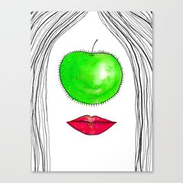 My Apple P-eye Canvas Print