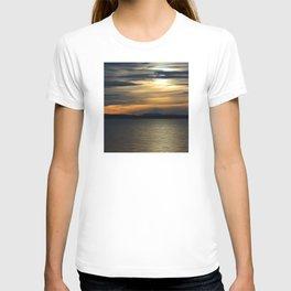 Montana Sunset- Flathead Lake T-shirt
