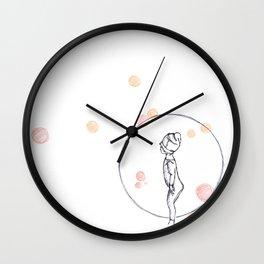 Look that girl Wall Clock