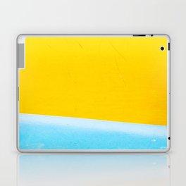 Sea & Sand Watercolor painting Abstract Laptop & iPad Skin