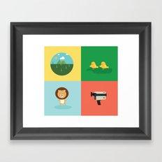 babylion Framed Art Print