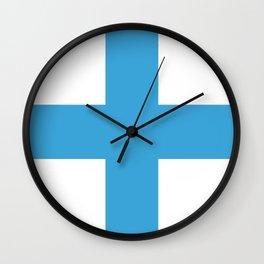 Flag of Marseille Wall Clock