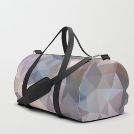 Polygon pattern 9 Duffle Bag