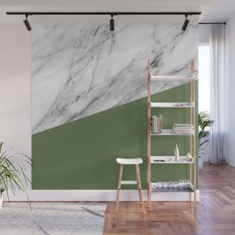 Marble and Kale Color Wall Mural