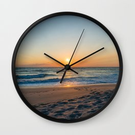 Canaveral Sunrise Wall Clock