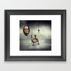 Reflection of truth Framed Art Print