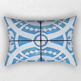 Azulejos 95 Rectangular Pillow