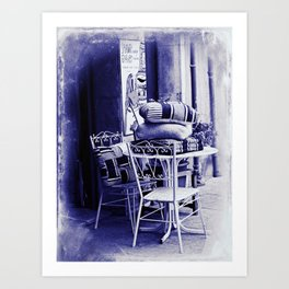 Table For Two Vintage Style Art Print