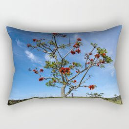Prickly Tree Rectangular Pillow