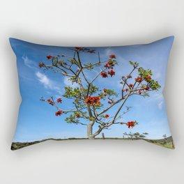 Prickly Tree Rectangular Pillow