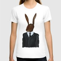 lynch T-shirts featuring David Lynch | Rabbit by FAMOUS WHEN DEAD