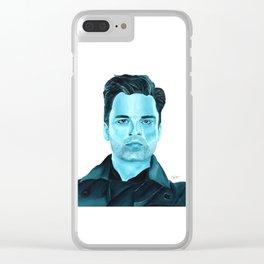Bucky Barnes Clear iPhone Case
