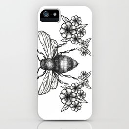 give me some sugar, little honey bee iPhone Case