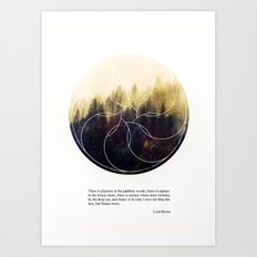 Into the wild Art Print