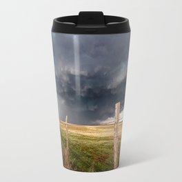Soft - Storm Along Fence Line in Texas Panhandle Travel Mug