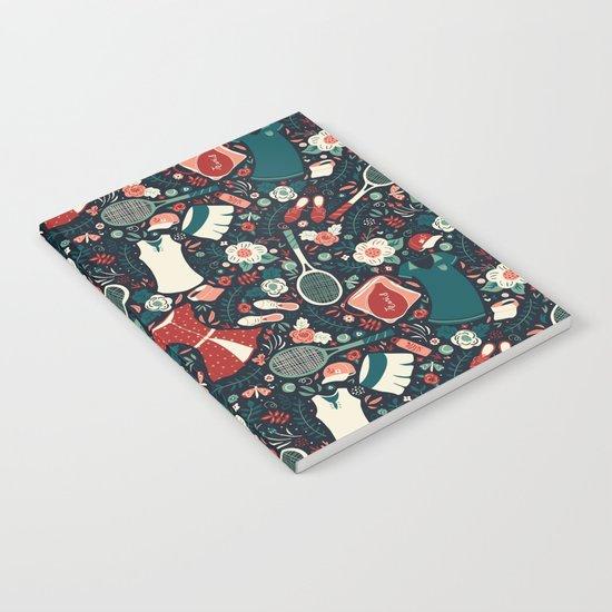 Tennis Style Notebook