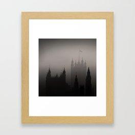 London Silhoueten Framed Art Print