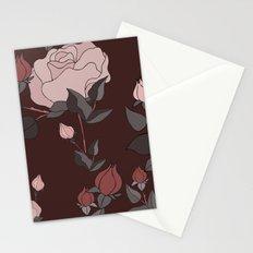Big Rose Pattern  Stationery Cards