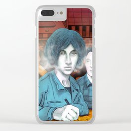 The inspiration for Alex Turner Clear iPhone Case