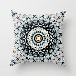Just Because Nothingness Mandala Throw Pillow