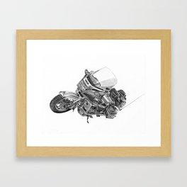 Suzuki Cavalcade Framed Art Print