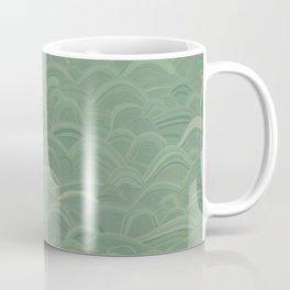 just waves aqua Coffee Mug