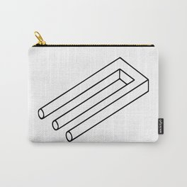 Optical Illusion #3 Carry-All Pouch