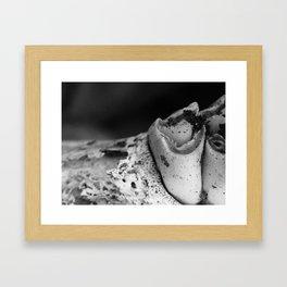 Jawbone V Framed Art Print