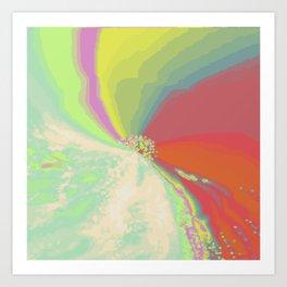 Psychedelica Chroma V Art Print