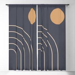 Minimal Geometric 84 Blackout Curtain