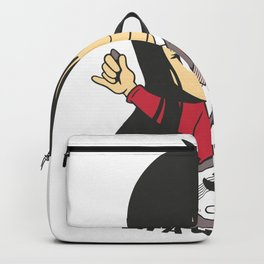 Guitarist Girl Backpack