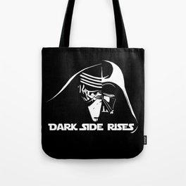 Dark Side Rises Tote Bag