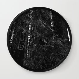 Redwood Forest VI Wall Clock