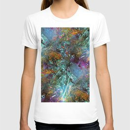 Crystal Foil Decoration T-shirt