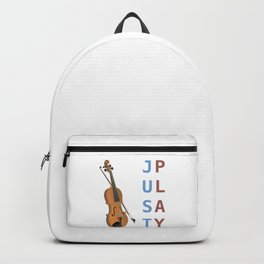 Just Play the Violin Backpack