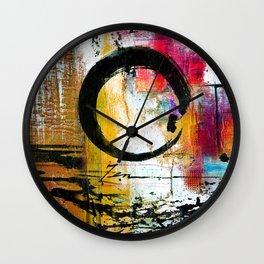 Enso Abstraction No. mm15 Wall Clock